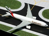 Official Gemini Jets Emirates Sky Cargo Boeing 777F A6-EFF Vaughan