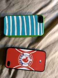 red and blue iPhone case Raymond