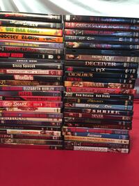 Lot Horror Dvds Movies  1192 mi