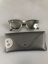 Black ray-ban clubmaster sunglasses with case Norfolk, 23503