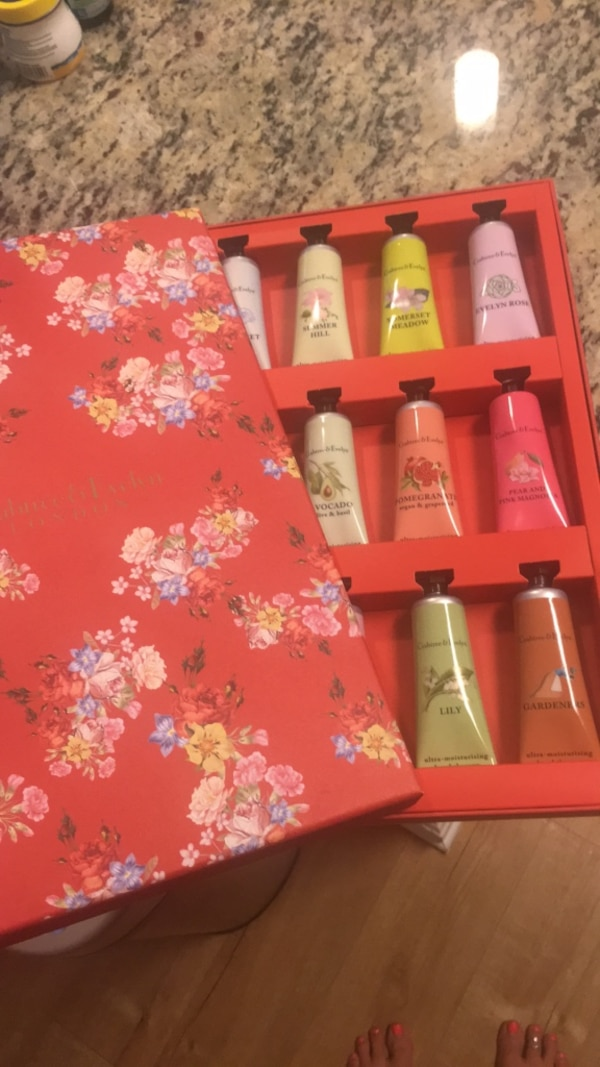 Crabtree and Evelyn Lotions
