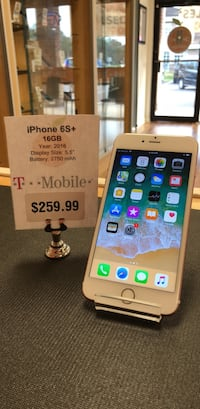 T-Mobile iPhone 6S+ 16GB Fleming Island, 32003