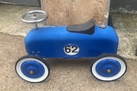 FAO Schwarz Classic Derby Car Blue #62 Toys R Us used ride on Clifton, 07011