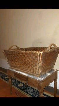 Plantation Wicker Gather Field Basket New Orleans, 70113