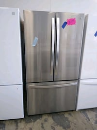 Stainless steel french doors refrigerator  Hyattsville, 20782