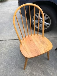 brown wooden windsor armless chair Mount Airy, 21771