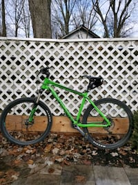 Hardtail bicycle mint condition. Bought it at $1400