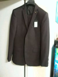 black notch lapel suit jacket Toronto, M4A 2W1