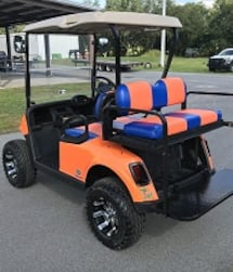 Golf Cart 2016 Electric 4 Seat Like New!!! for sale! -