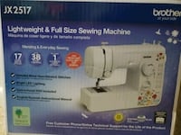 white and black Brother electric sewing machine bo Baltimore