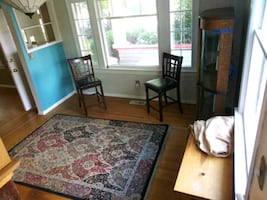 "Area Rug 66"" wide× 93"" long"