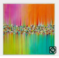 Multiple Colors Abstract Painting
