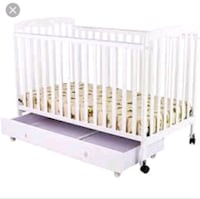 2 In 1 Dream On Me Crib With Drawer (Color Tan) Fort Washington, 20744