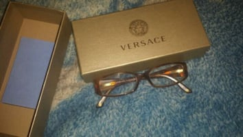 Real versace  eyeglasses  n  box