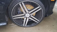 black and silver Mercedes Benz auto rims Huntsville, 35805