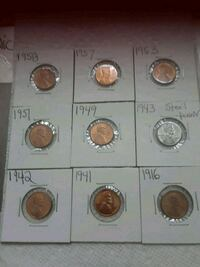 Coins pennies  Clearwater, 33764