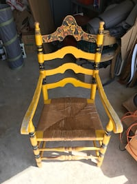 Antique yellow chair Lake Forest, 92630