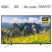 43 inch 4k smart android tv  Toronto, M9V 1X6