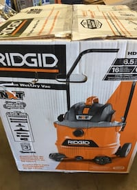 Ridgid 16 gallon shop vac with cart Garden Grove, 92843