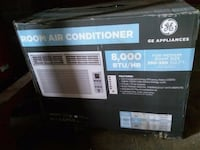 black and gray window-type AC unit box Westminster, 21157