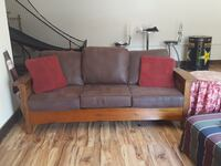 Solid wood couch Big Bear, 92314