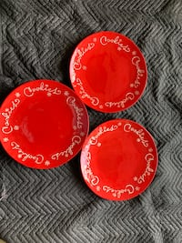 """15"""" Christmas platters with snowflake and  Gambrills, 21054"""