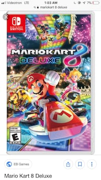 Looking for MarioKart 8 Deluxe for Switch Dollard-des-Ormeaux, H9G 1L1