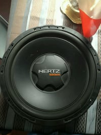 Subwoofer hertz energy 38'