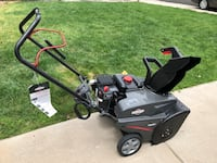 Snow Blower – almost new. Highlands Ranch, 80126