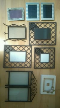 8 Assorted Picture Frames Mississauga, L5K 1K1