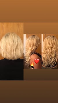 Hair extensions Microbeads weft  Montreal