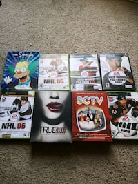 six assorted DVD movie cases Edmonton, T5A 3R8