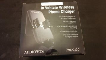 Audiovox In Vehicle Wireless Phone Charger