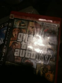 Sony PS4 Grand Theft Auto Five game case