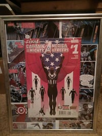 Captain America and the mighty avenger #1 comic book picture Edmonton, T5P 1T6