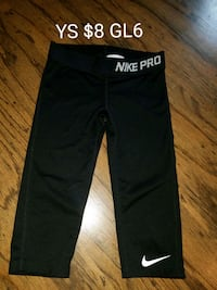 GIRLS size YS Nike tights  Erath, 70533