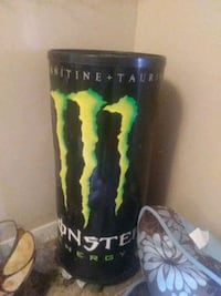 Monster garbage can