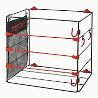 Racor Ball Rack, Bats and Gloves, BR-1B Mississauga