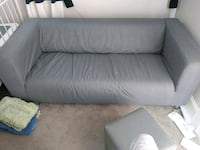 gray fabric 2-seat sofa Hyattsville, 20783