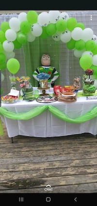 Personalized party decor services Milwaukee