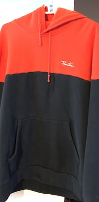 2xl Red and Navy Blue Primitive Hoodie