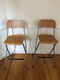 High rise chairs (two)