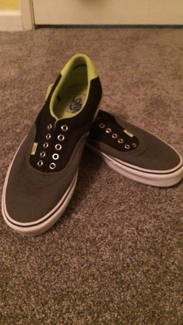 8300dc26613071 Used Gray-green-and-black vans low tops for sale in Clayton - letgo