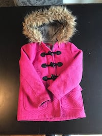 Pink peacoat girls 6-7 Rockville, 20853