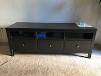 TV Stand with Selves