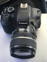 black Canon EOS DSLR camera Hayward, 94545