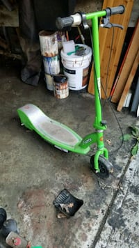 green and white push mower Cleveland, 44110