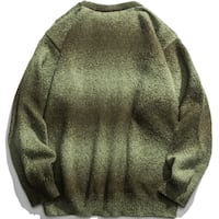 THE BROXIES PONCHI LONG SLEEVED CREW NECK SWEATER