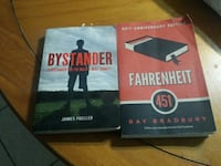 two By stander and Fahrenheit books
