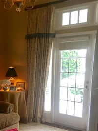 Professionally made curtains. both panels. Wow. Special prices.  Westchase garage sale prices   Tampa, 33626